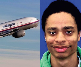 Malaysian Airlines Flight 370 & Darion Marcus Aguilar
