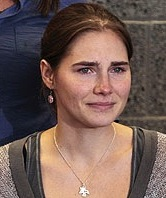 Amanda Knox Homecoming Seattle, Washington