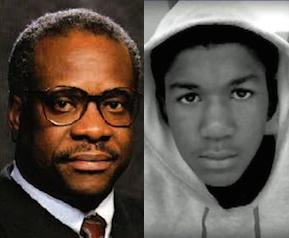 Clarence Thomas & Trayvon Martin