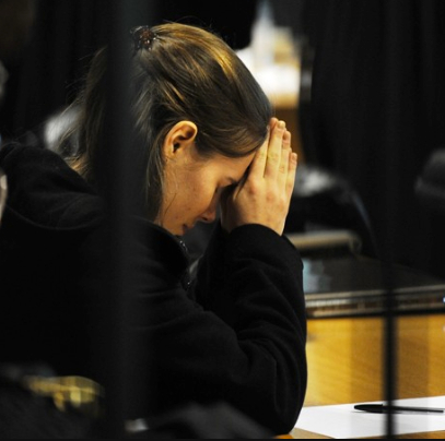 Amanda Knox at Appeal Hearing