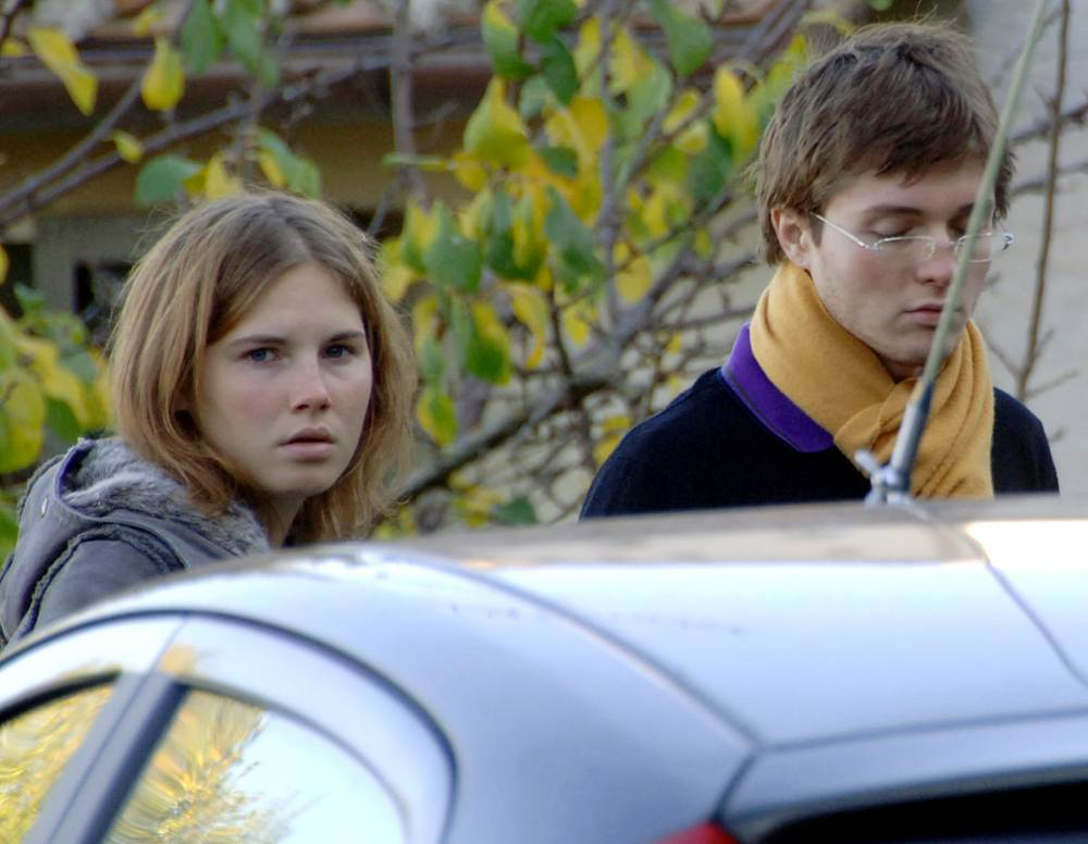 Amanda Knox & Raffaele Sollecito before their arrests