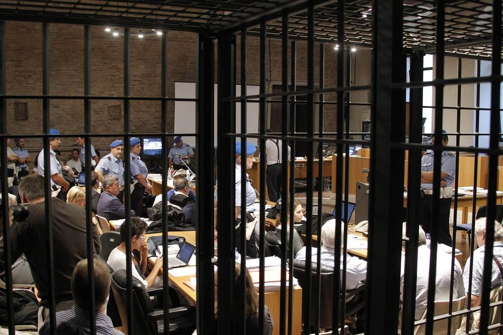 Perugia Courtroom