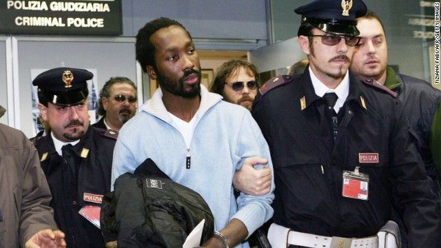 Rudy Guede, convicted of killing Meredith Kercher