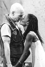 "Stewart and Patrice Johnson in ""Othello"""