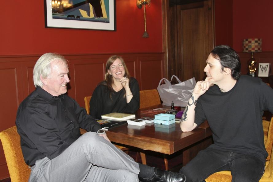Damien & Lori with John Douglas