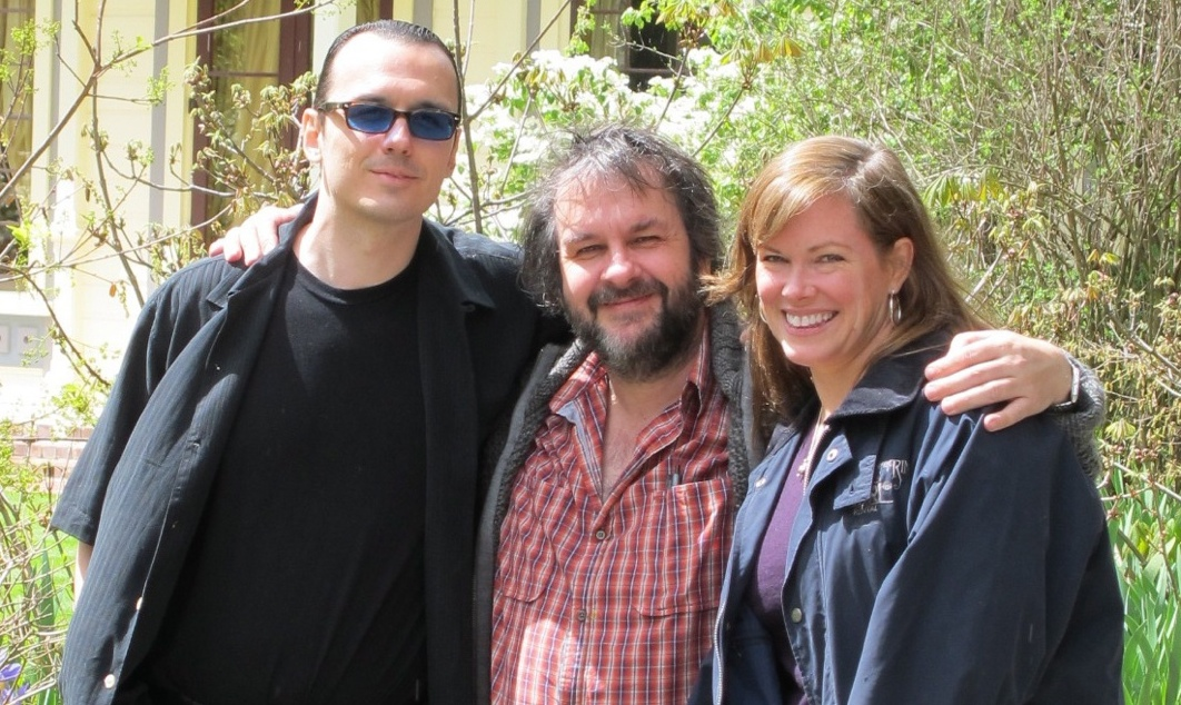Damien & Lorri Echols with Peter Jackson